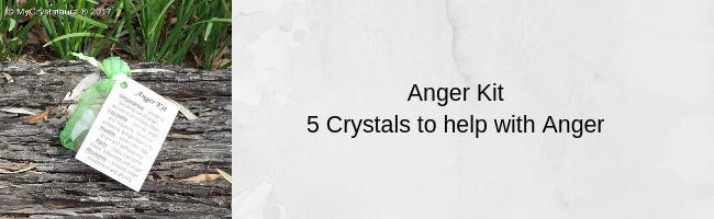 Anger Healing Crystals