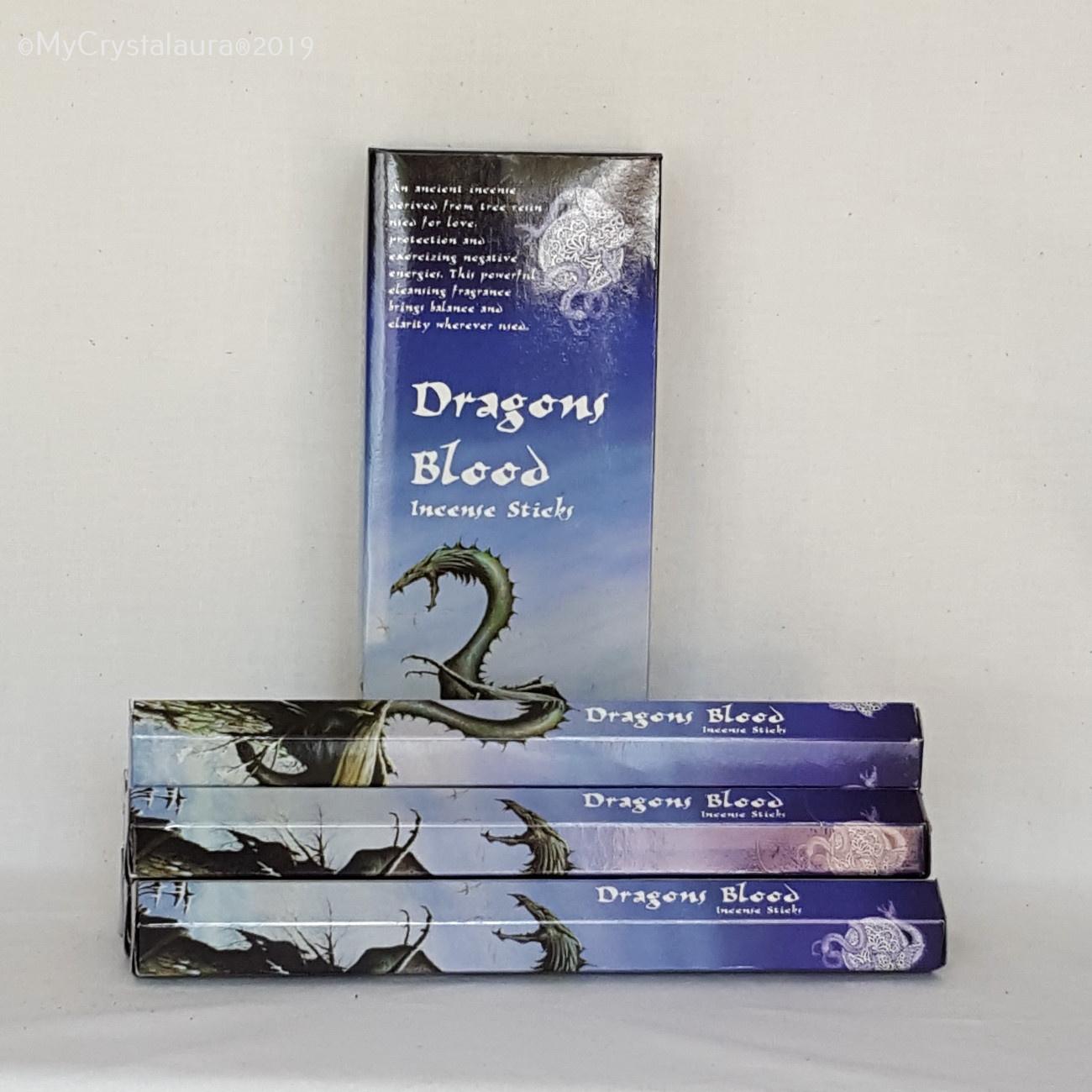 Dragons Blood Incense Sticks Kamini Incense Sticks My Crystalaura