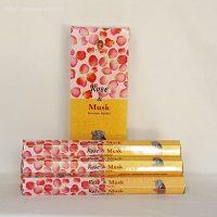 Rose & Musk incense