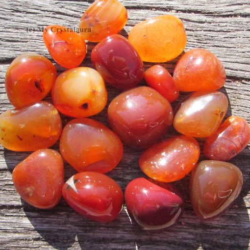 Crystals and Numerology for 2021. Carnelian
