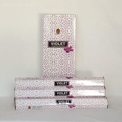 Violet incense