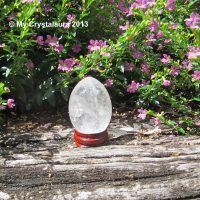 Clear Quartz Egg