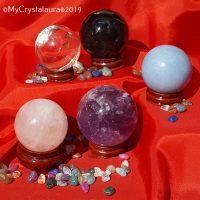 Crystal Spheres - Crystal Balls - Buy Crystals Online