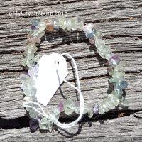 Fluorite Bracelet.