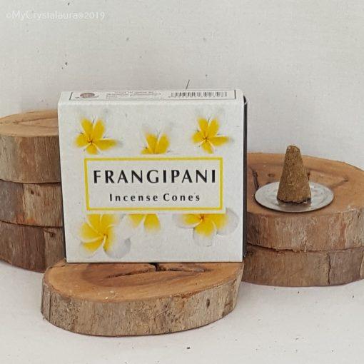 Frangipani Incense Cones