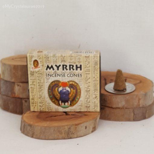 Myrhh Incense Cones