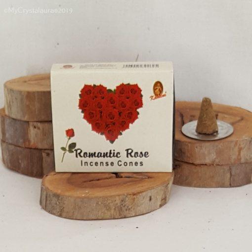 Romantic Rose Incense Cones