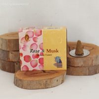 Rose & Musk Incense Cones