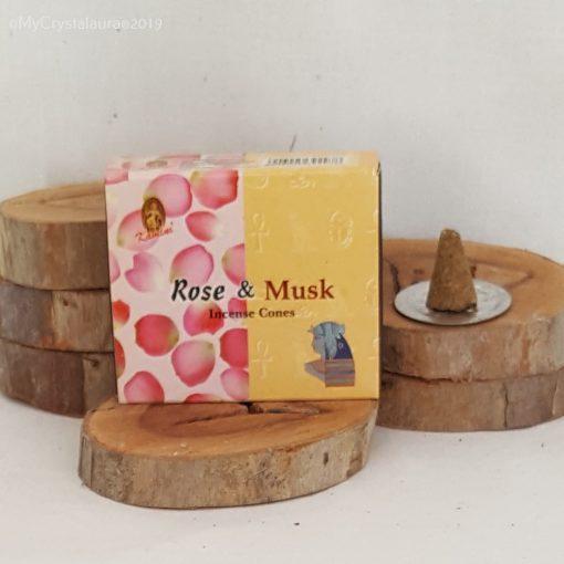 Rose & Musk Incense Cones