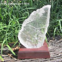 Selenite Piece with Stand