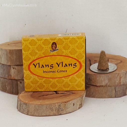 Ylang Ylang Incense Cones