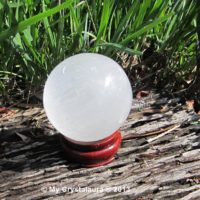 Selenite Ball