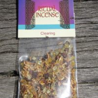 Clearing ritual incense