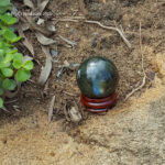 Labradorite ball