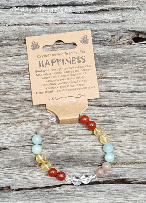 Happiness Bracelet - MyCrystalaura
