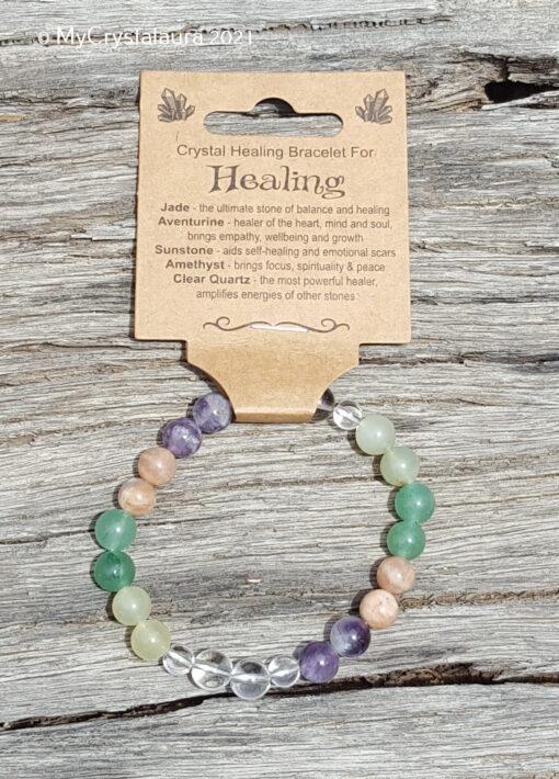 Healing Bracelet - MyCrystalaura