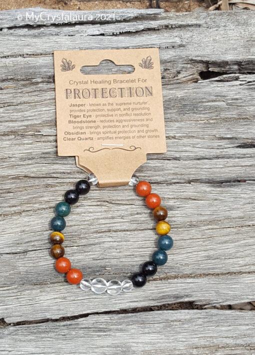 Protection Bracelet - MyCrystalaura