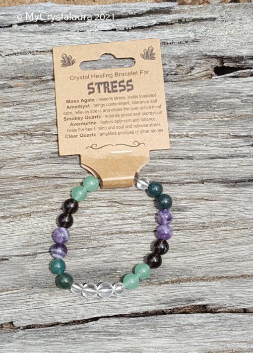 Stress Bracelet - MyCrystalaura