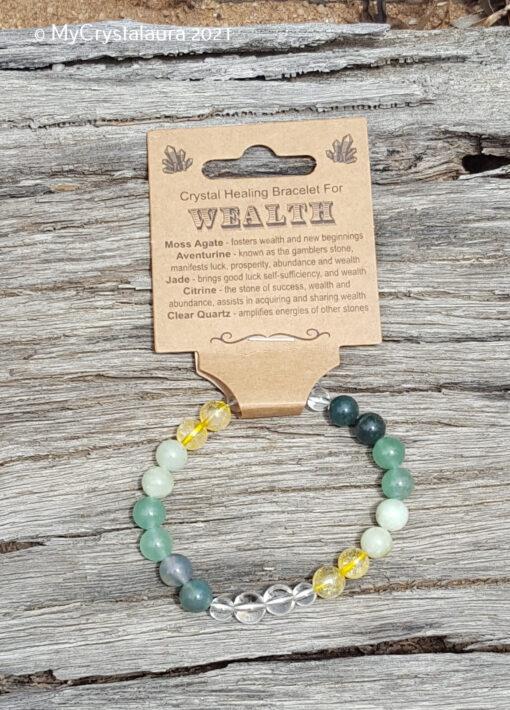Wealth Bracelet - MyCrystalaura
