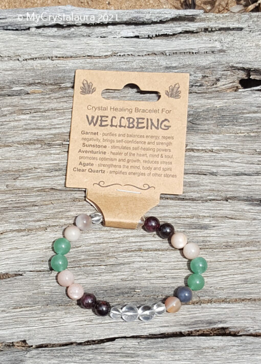 Wellbeing Bracelet - MyCrystalaura